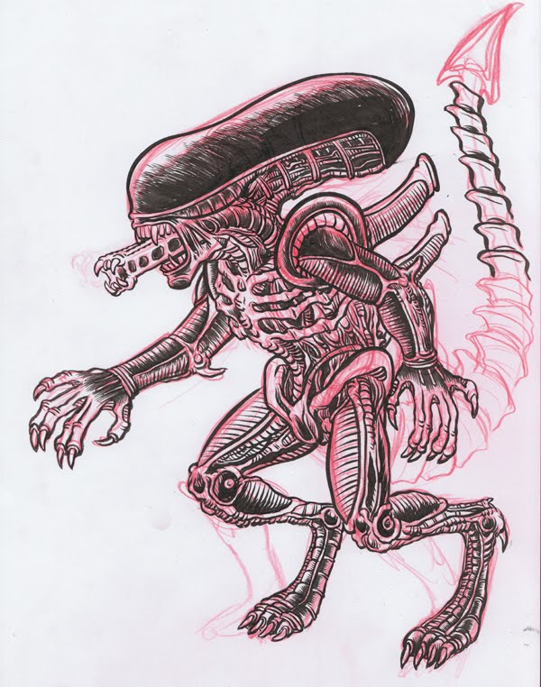 The Daily Zombies: Anatomy of an Alien