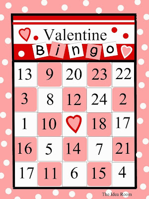 Free and Printable Valentine's Day Bingo Cards For Kids 5