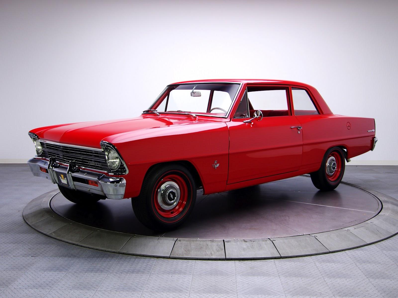 Retro cars chevrolet chevy ii 100 2 door coupe 39 1966 for 100 doors 2 door 8