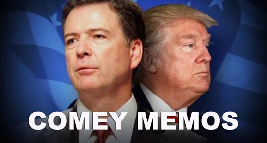 FIND COMEY MEMOS HERE: