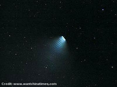 UFO Over Sichuan and Yunnan Provinces in China November 2012