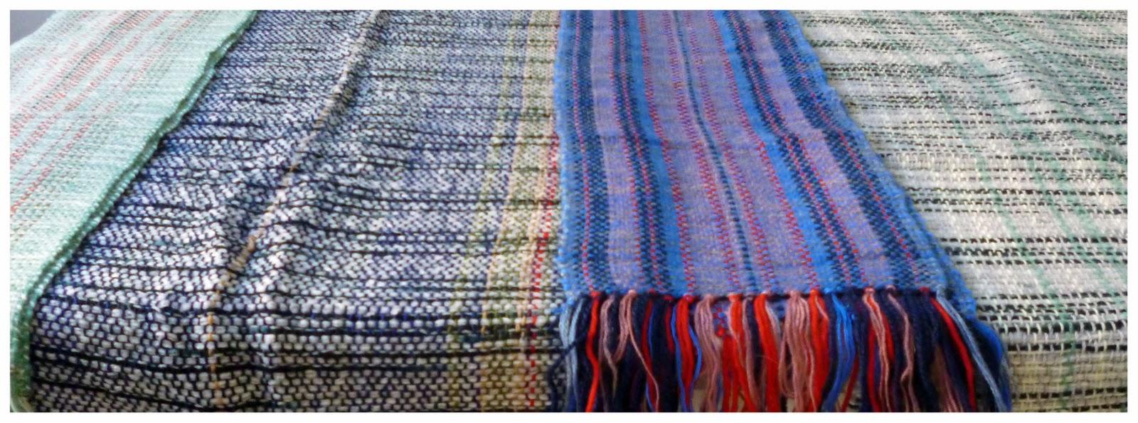 Atelier de colores objetos for Mantas de lana hechas a mano
