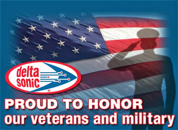 Veterans Day Free Car Wash Delta Sonic