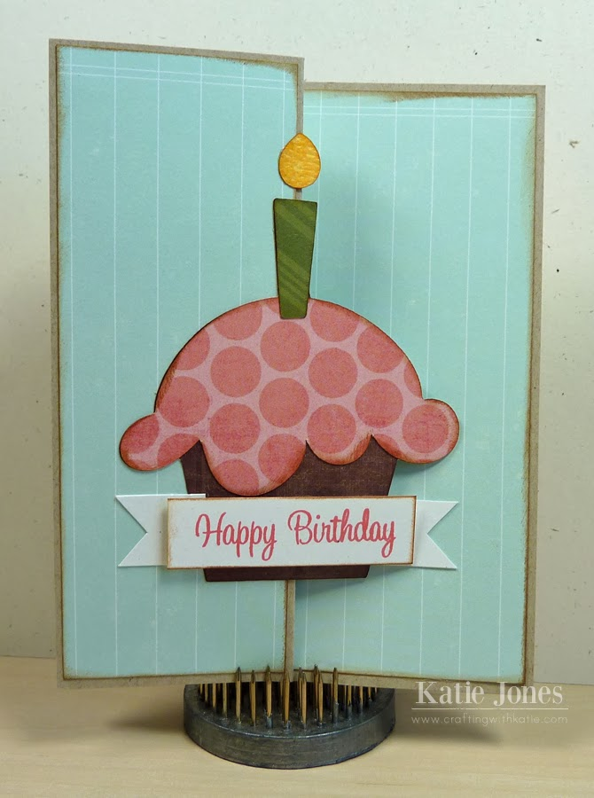 Crafting With Katie Birthday Z Fold Card