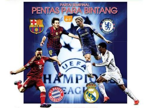 Jadwal Babak Semifinal (4 Besar) Liga Champion 2011/2012 ...