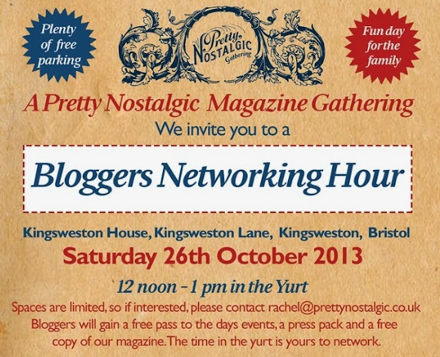 Pretty Nostalgic Bloggers Networking Hour