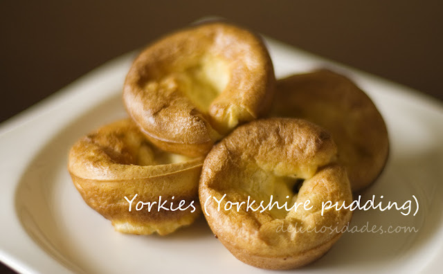 deliciosidades - Yorkies o Yorkshire pudding