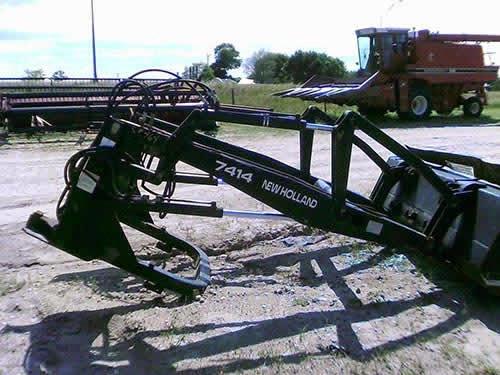 used new holland loader