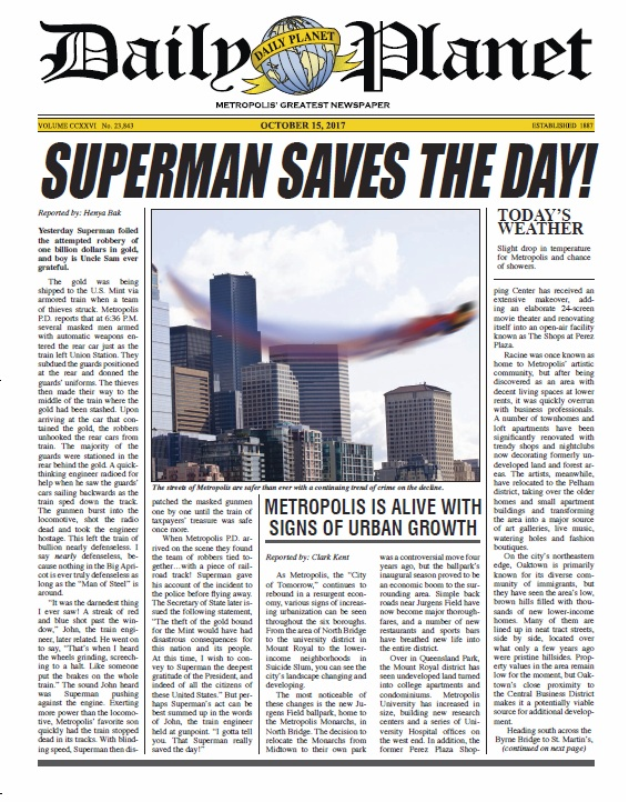 daily news reports