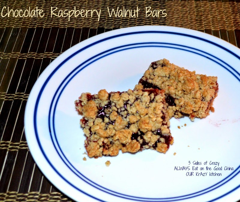 lemon bars & chocolate raspberry walnut bars ~ baking partners