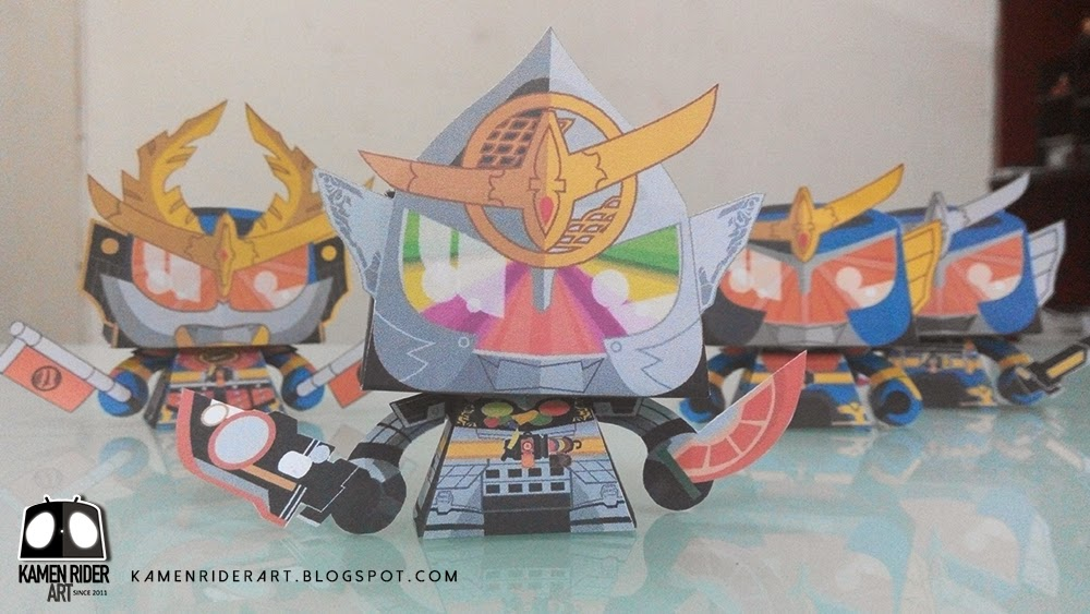 Kamen rider Gaim kiwami arms papercraft by kamen rider art 02 jpgKamen Rider Gaim Lock Seed Papercraft