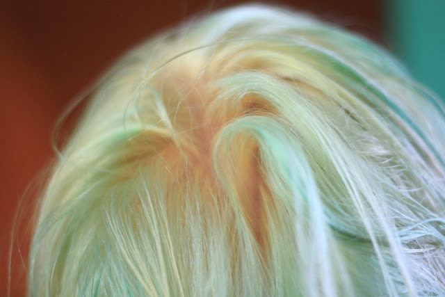 Hair Bleach : Your hair does not have to be one even color after bleaching for it ...