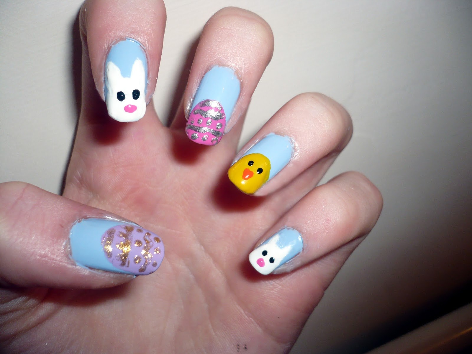 Louise Fashion | a fashion, style and beauty blog: Easter nail art