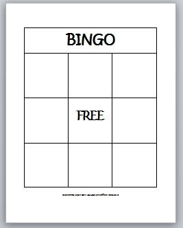 It is a graphic of Enterprising Free Printable Blank Bingo Cards for Teachers
