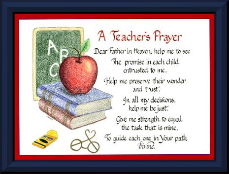 Prayer Resource for Schools: Prayers for the Beginning of the School ...