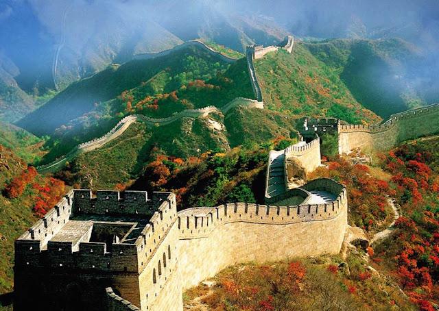 A grande muralha a maior fortifica o for A grande muralha da china