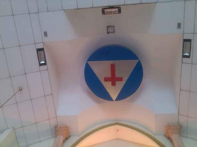 Thánh Giá ngược và Sừng Dê đã xuất hiện tại Gx Bình Thuận - Gp Sài Gòn
