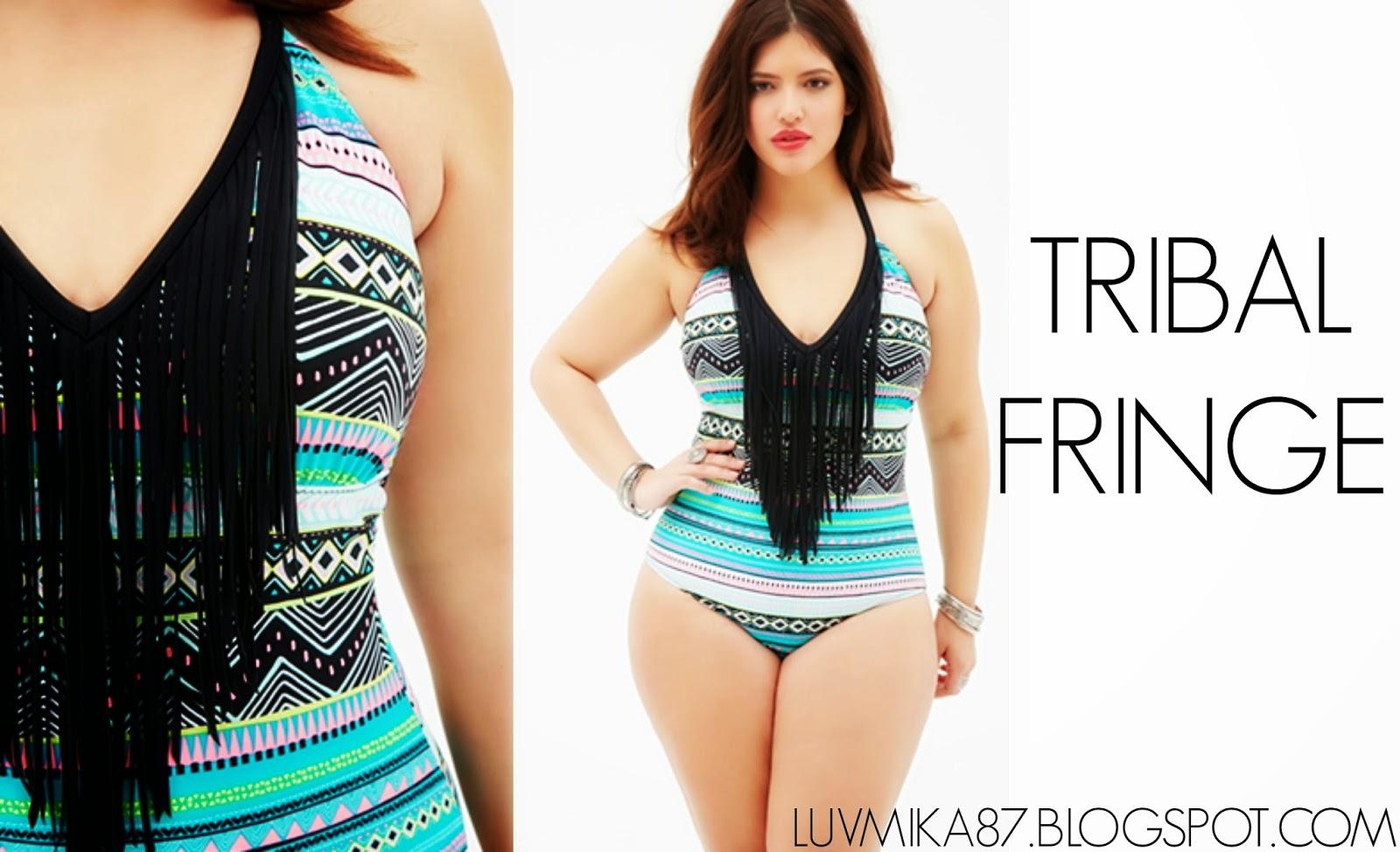 luvmika 87: affordable plus size swimwear : forever 21 swimwear 2015