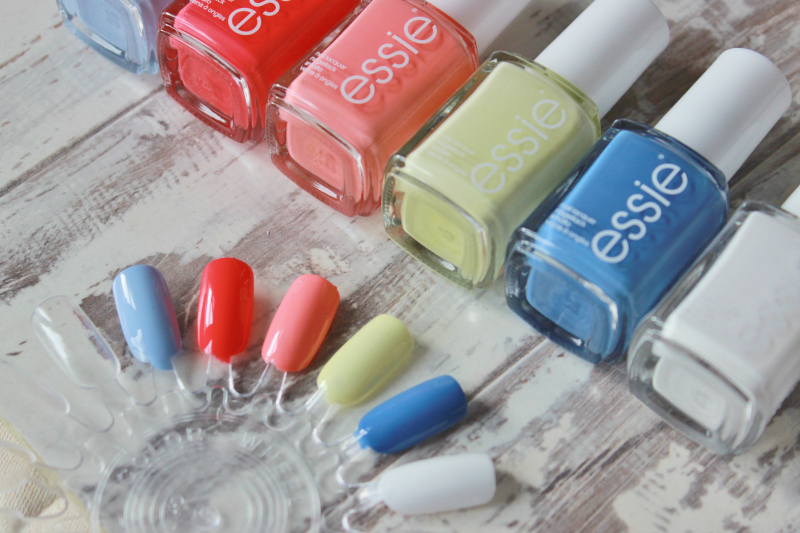 Essie summer 2015 nail polish collection swatches
