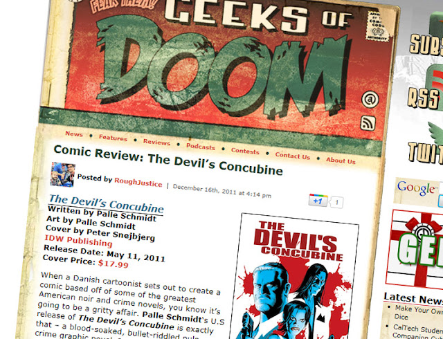 The Devil's Concubine: GEEKS OF DOOM REVIEW