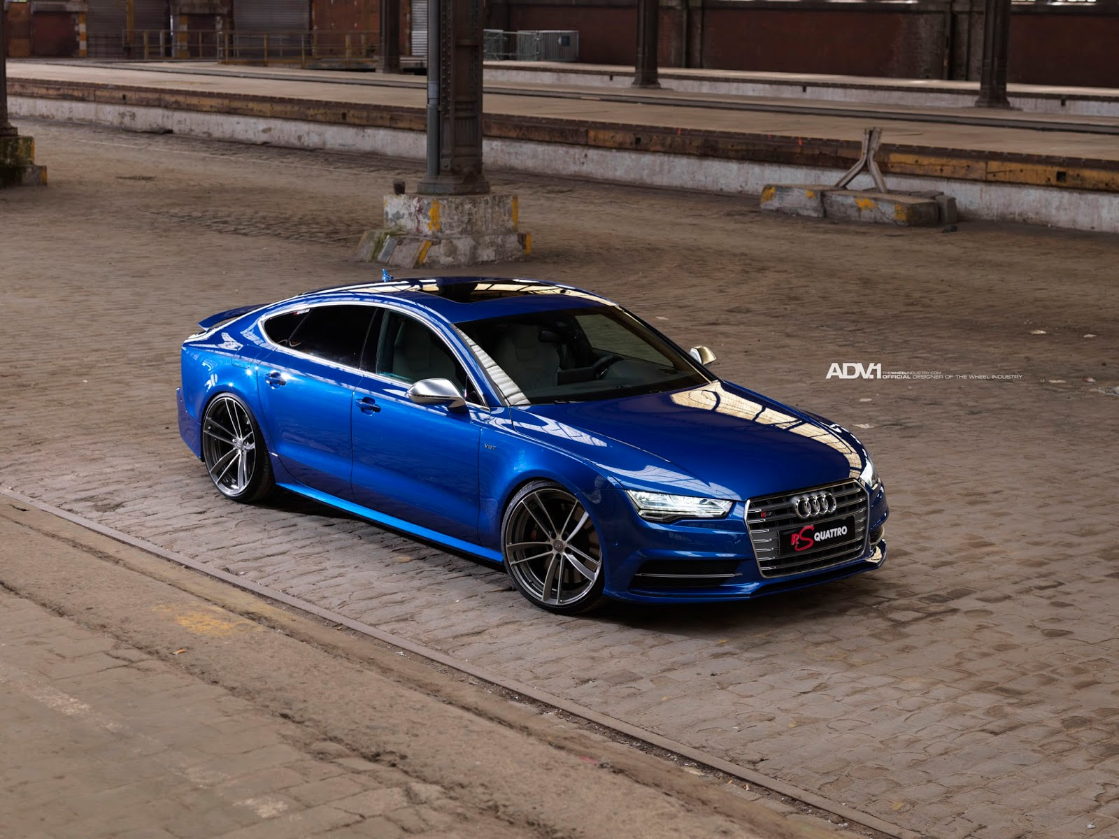 all cars nz audi s7 with adv1wheels. Black Bedroom Furniture Sets. Home Design Ideas
