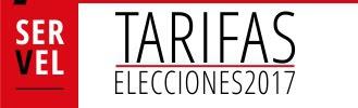 TARIFAS ELECCIONES 2017: