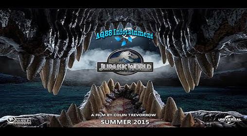 """Film adventure Hollywood berjudul """"Jurassic World"""" ini bercerita tentang taman Jurassic yang terdapat di suatu pulau yang sangat luas yang di dalam taman tersebut terdapat berbagai hewan dinosaurus."""