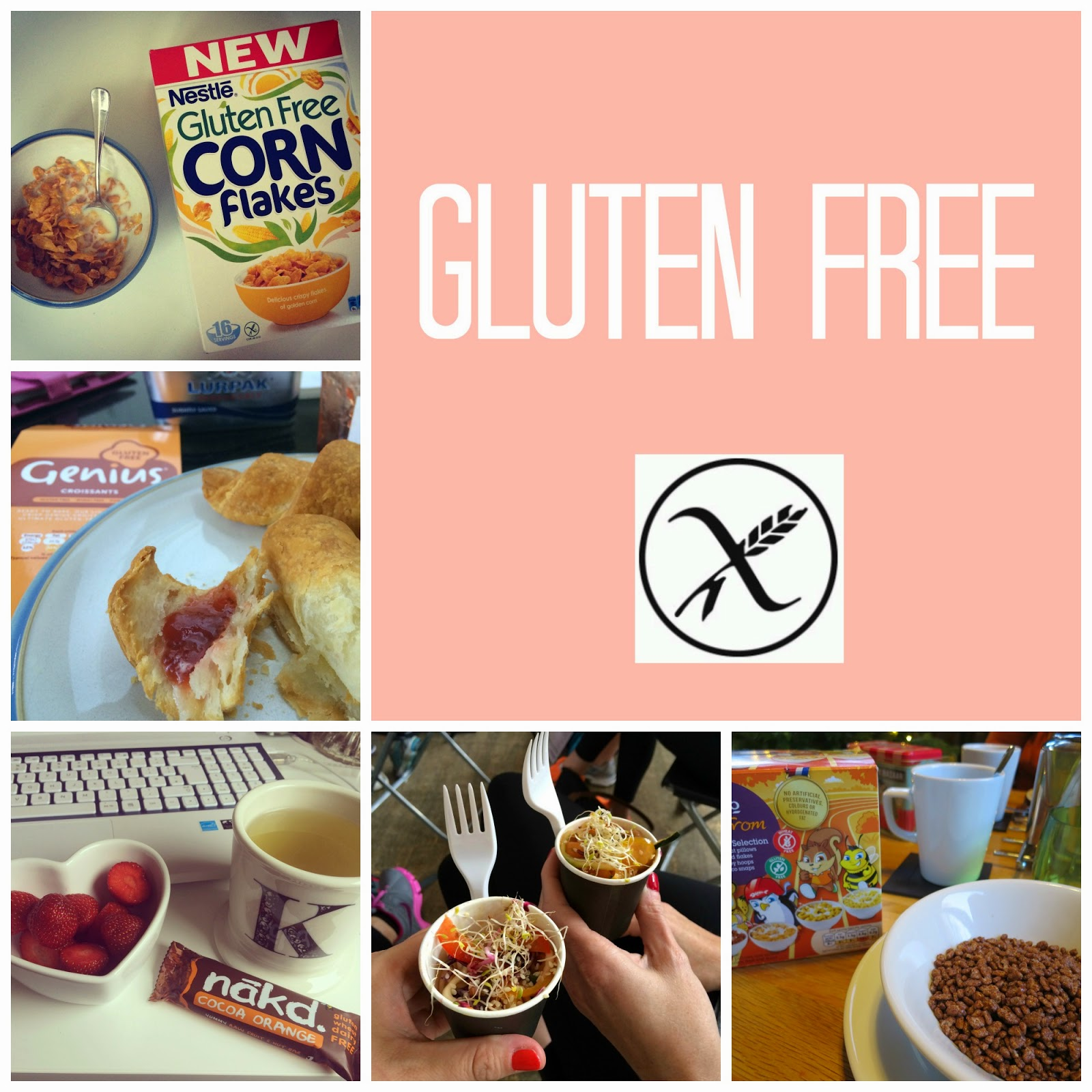 Coeliac Disease Being Gluten Free a collage of gluten free foods I enjoy