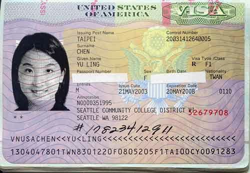 Can you work with a US student visa ?