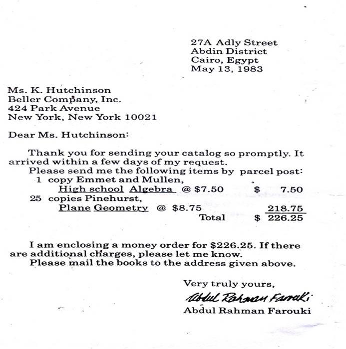Business letter jojoshuajosh e primbon spiritdancerdesigns Image collections