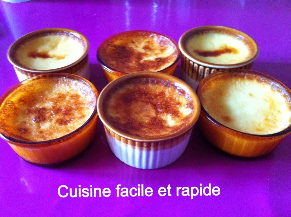 Cuisine facile et rapide cr me renvers e la confiture - Cuisiner facile et rapide ...