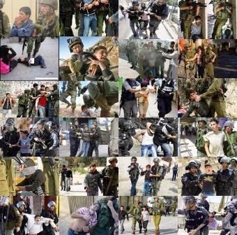 A inocência perdida, Israel prende e tortura crianças palestinas