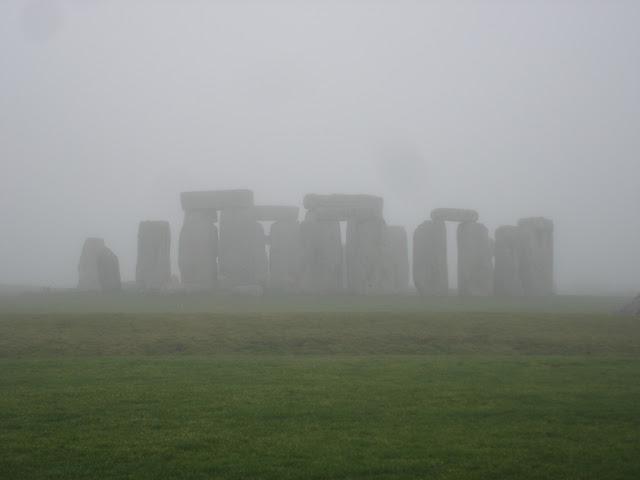 Stonehenge in the Fog