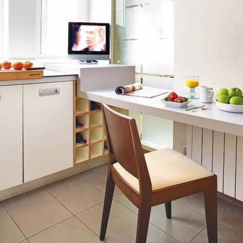 Decora y disena desayunadores para cocinas peque as for Cocinas modernas pequenas para apartamentos con desayunador