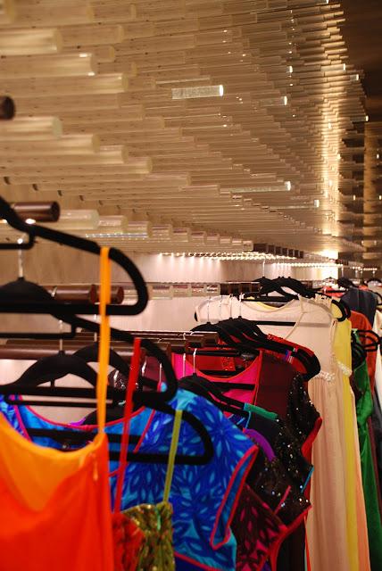 Innovative hanging space at MYthology boutique