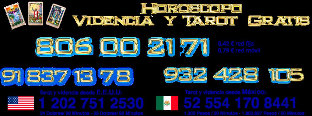 Videncia y tarot gratis, Tarot Barato Fiable 5€, buenos Videntes, videntes telefónicos