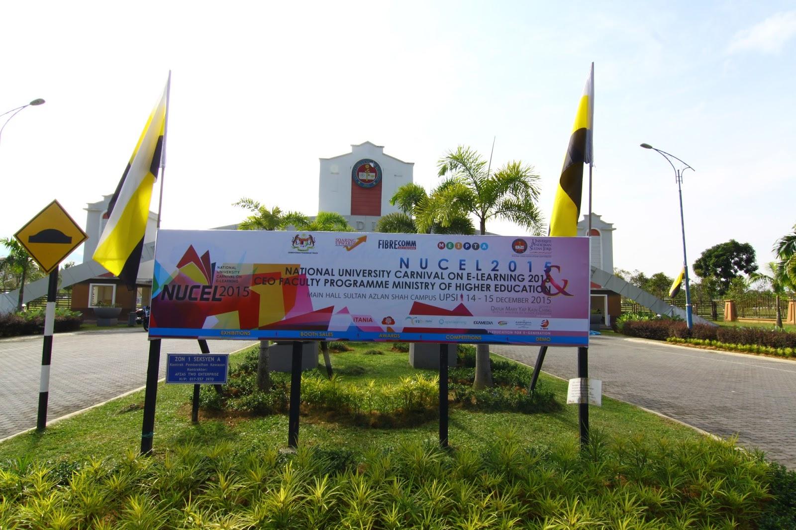 NUCeL 2015 : Karnival e-Learning Universiti Malaysia