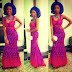 Simple And Creative Aso Ebi Cord Lace Style