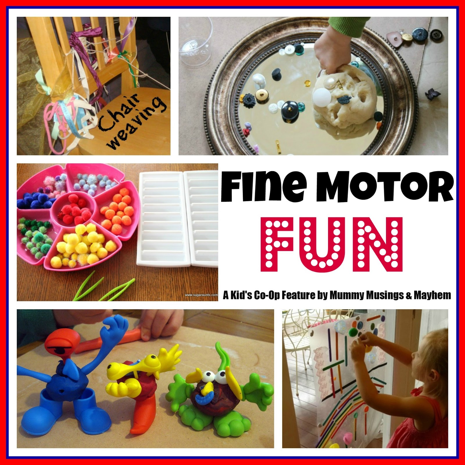Weekly Kid 39 S Co Op Fine Motor Fun The Empowered Educator