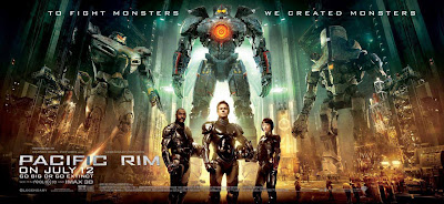 Pacific Rim, Guillermo del Toro, Idris Elba, Rinko Kikushu, Ron Perlman, Hellboy 2, Hellboy, Blade 2, Gipsy Danger, Charlie Hunnam, Kaiju, Jaeger, Evangelion, Pentecost, Portal, Mako, Raleigh, Babel, The Brothers Bloom, Michael Bay, Transformers 4, Luther, Warner, Charlie Day, test, critique, avis, review, trailer