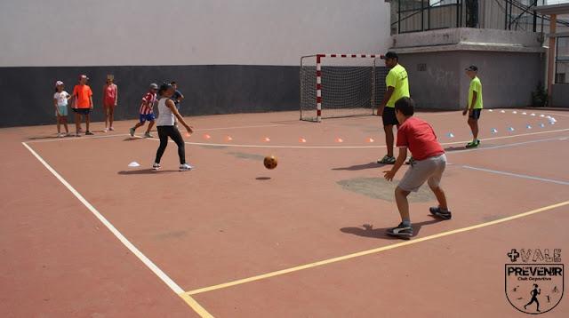 deporte saludable escuela verano