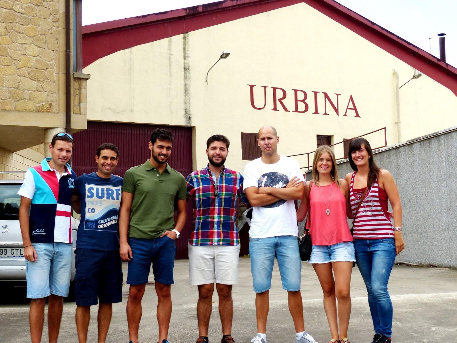 Urbina Vinos Blog Traveloja Visita Bodegas Urbina Y Turismo La