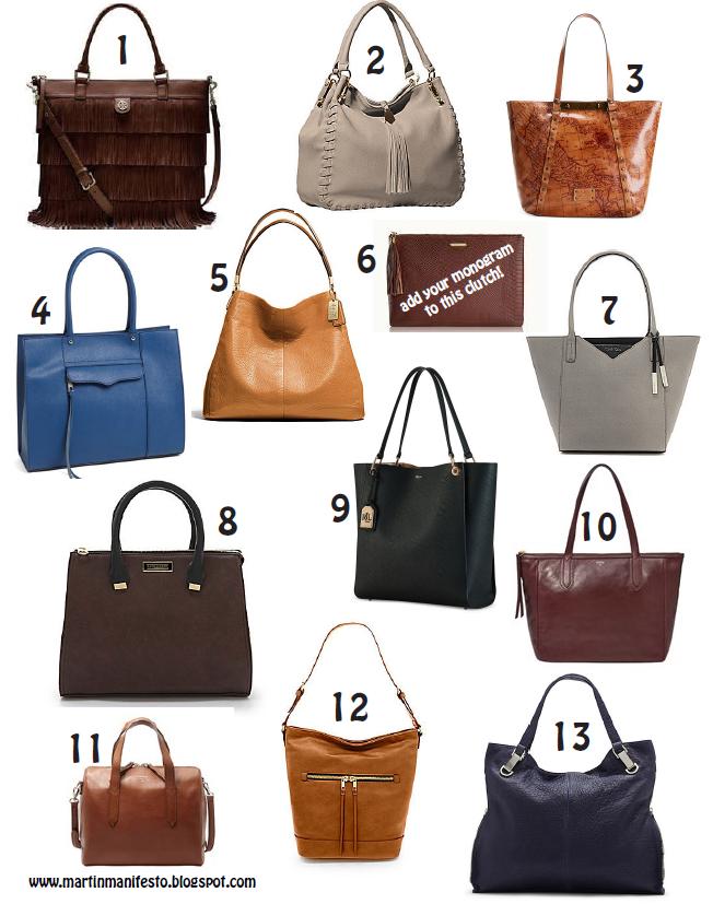 2014 Fall Handbags