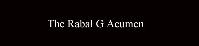 The Rabal G Acumen