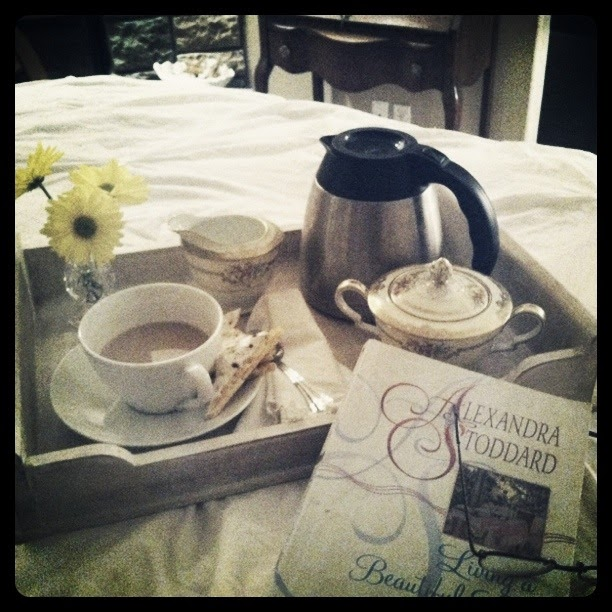 Coffee On The Table Tablescape Thursday Coffee In Bed