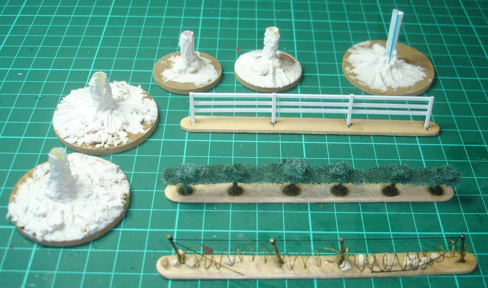 One Sided Miniature Wargaming Discourse: Projects 2013 – Terrain and ...