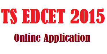 Telangana TS EdCET 2015 Online Application
