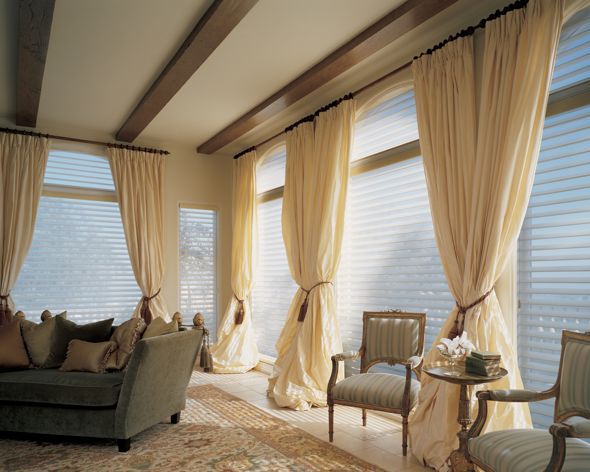 Large Windows Treatment Ideas. A Window Is One Of The Abundant Strengths Of  A House. It Can Assignment As The Way Of Accustomed Ablaze And Breeze To  Access ...