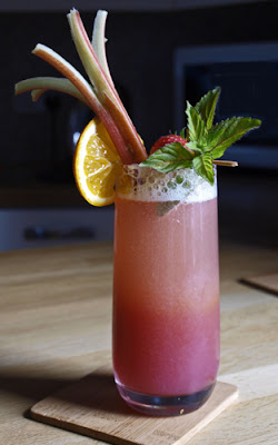 Rhubarb and Ginger Zinger