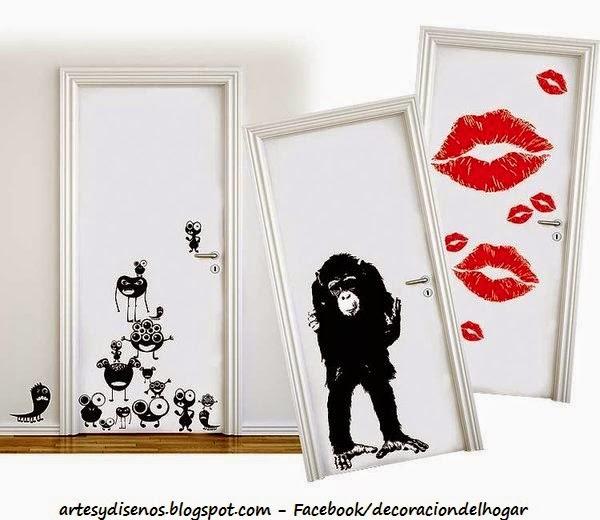 Decoraci n de puertas en interiores decoraci n del hogar - Decoracion puertas interior ...